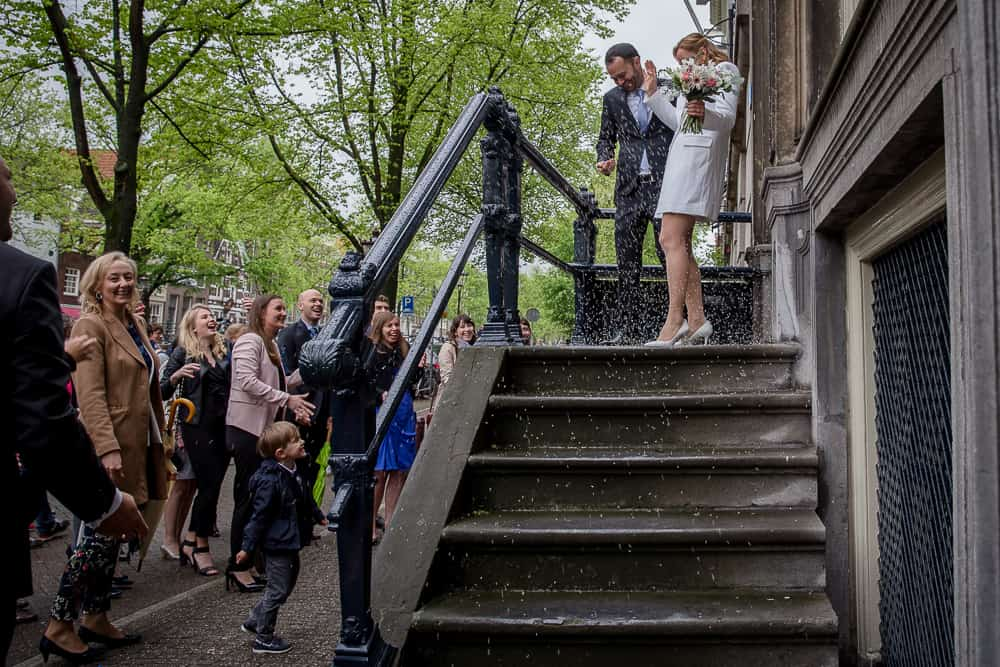 Boglárka & Steven trouwen in Amsterdam