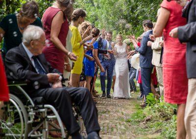 Bas & Willemijn trouwen bij De Olmenhorst