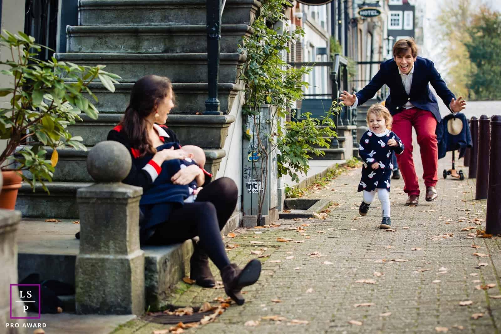 Lifestyle familiereportage in Amsterdam Martine van der Voort Fotografie